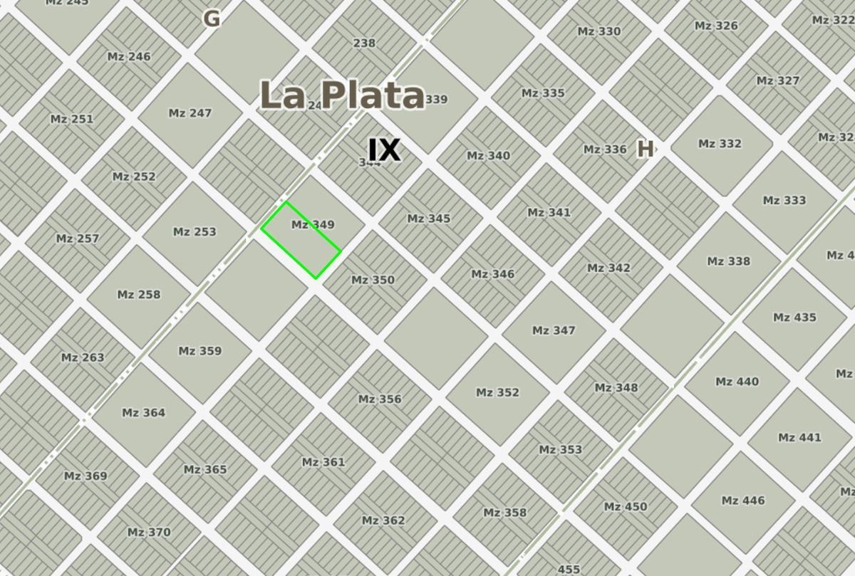 terreno venta - 43,30 x 86,60 mts-3,703 mts 2 -villa parque sicardi