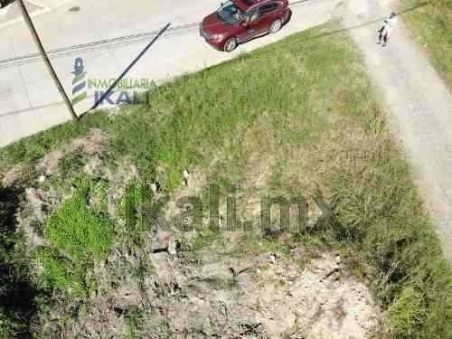 terreno venta 460 m² en esquina col. jardines de tuxpan veracruz, ubicado en la calle río papaloapan de la colonia jardines de tuxpan cuenta con un área de 460 m², 20 metros de frente a la calle río