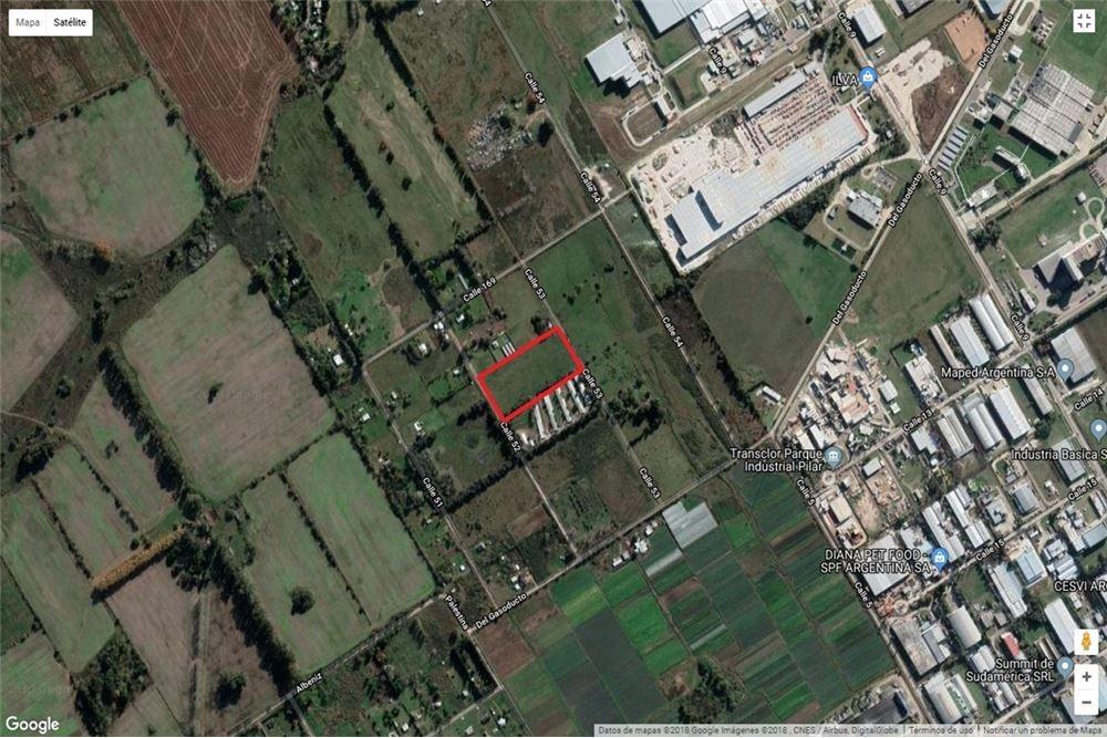 terreno venta  5000 mtrs semi rural fátima pilar