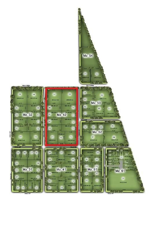 terreno venta 514  mts 2 -todos los servicios - altos de don carlos 1