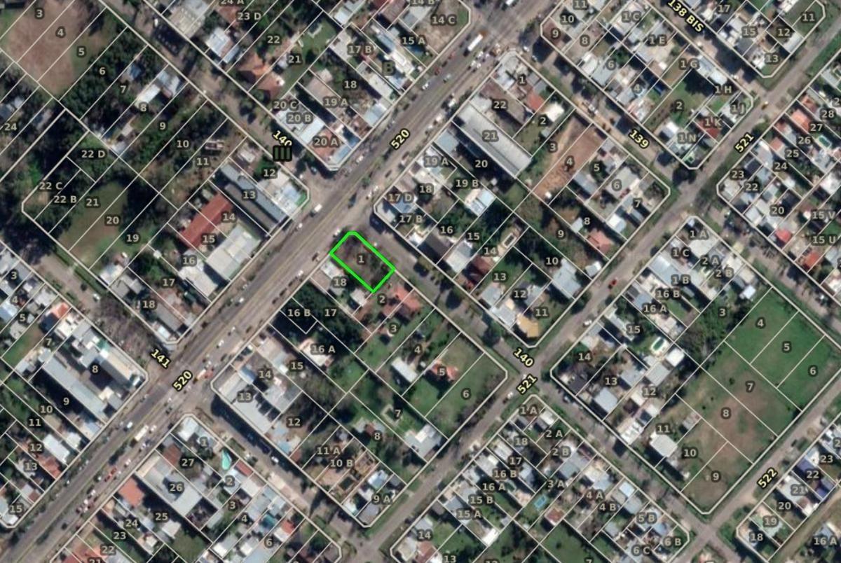 terreno  venta 573 mts 2 -san carlos