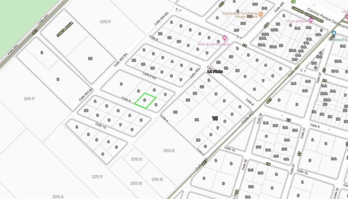 terreno venta- 650 mts 2-25 x 27 mts  - entre caminos - villa elisa