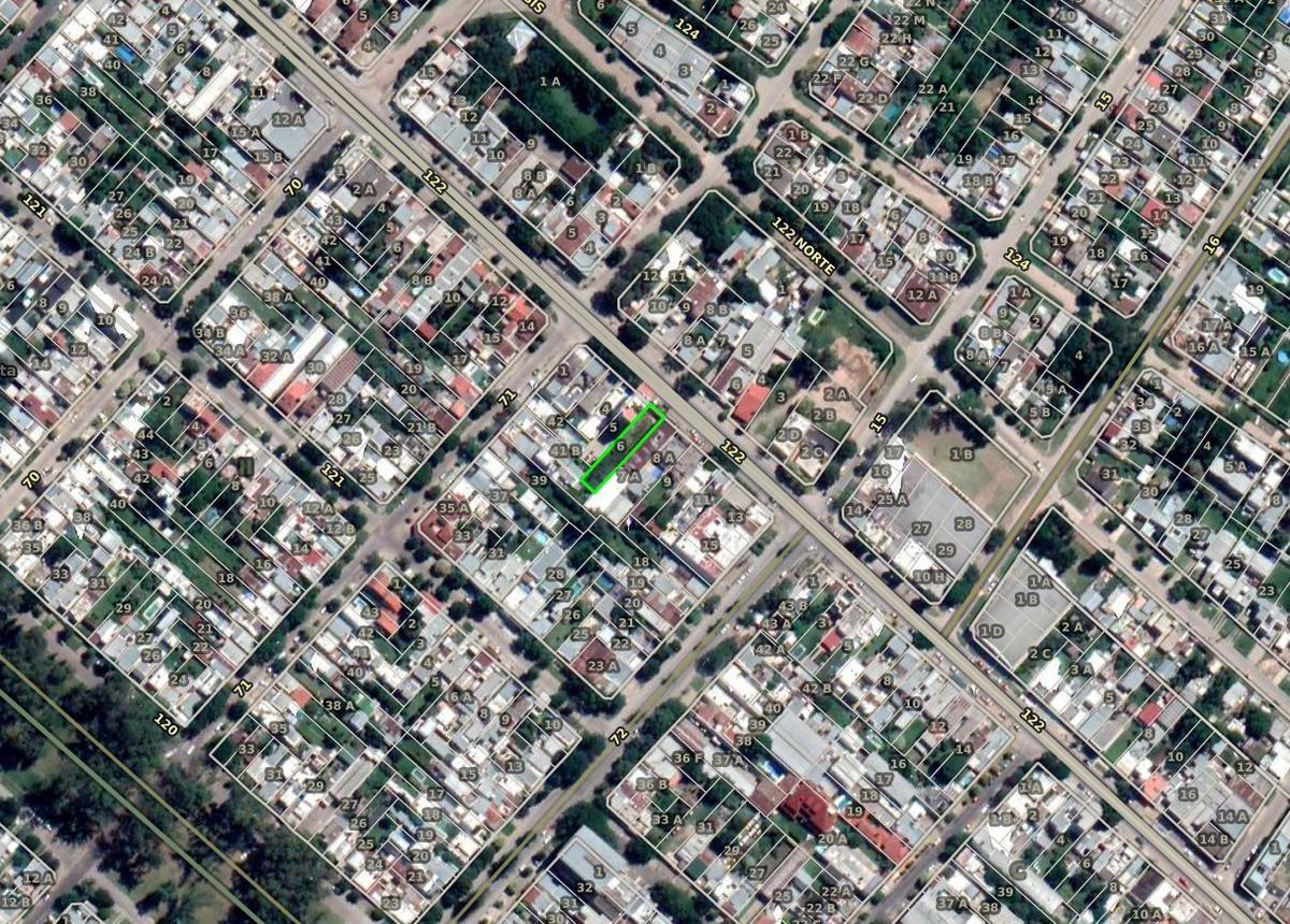 terreno venta 8,66 x 46,34 mts -401 mts 2 -avenida 122 - la plata