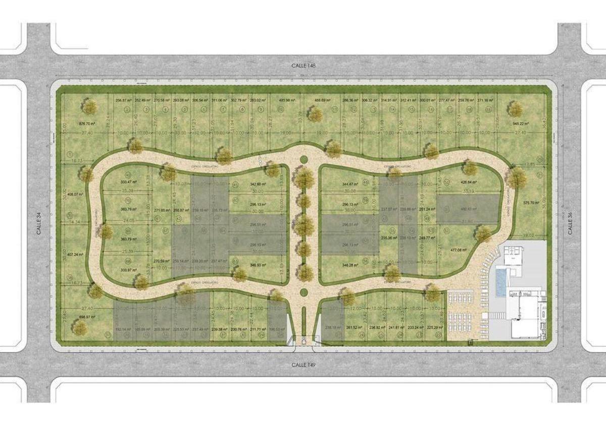 terreno venta- 900 mts 2   -gimnasio y piscina-barrio cerrado altos de la plata- san carlos