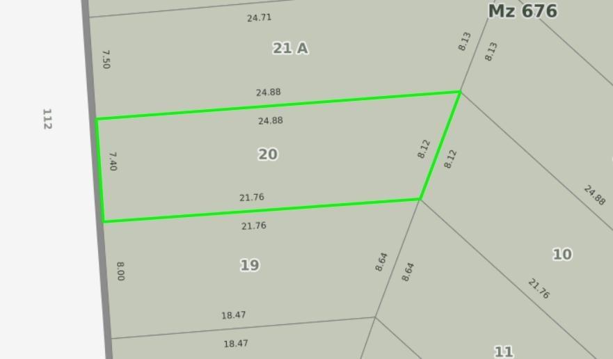 terreno venta con casa a refaccionar y 173 mts 2- la plata