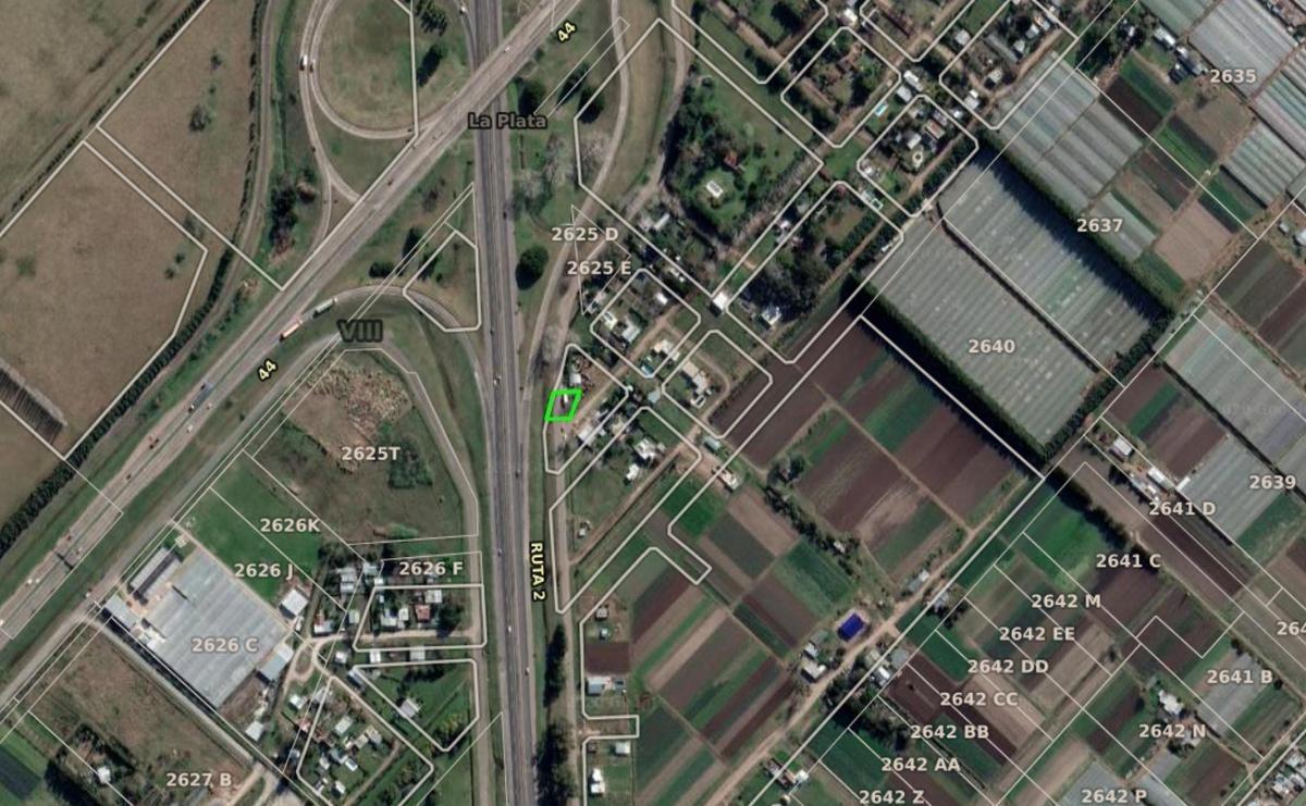 terreno venta frente de 37 mts -533 mts 2  -con luz, agua y gas - lisandro olmos etcheverry