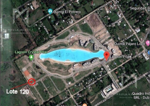 terreno - venta - pilar - lagoon pilar - zona norte -