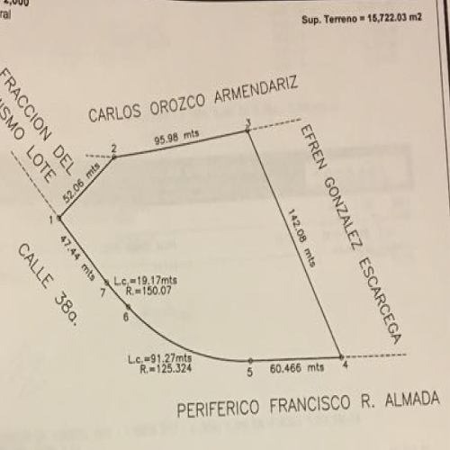 terreno venta r. almada 13,500,000 luiort gl11