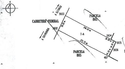 terreno venta - renta carr. chihuahua- aldama  $7,000,000 - $15,000 vicher gl3