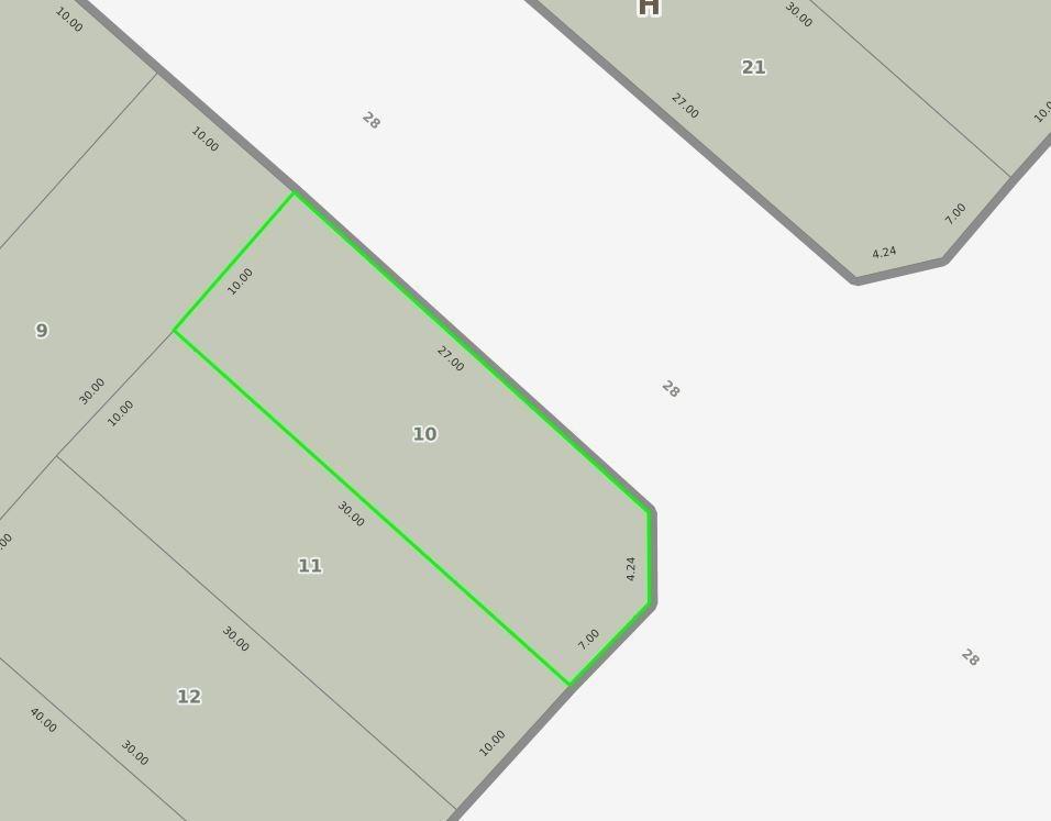 terreno venta sobre avenida 526- 295 mts 2 - tolosa