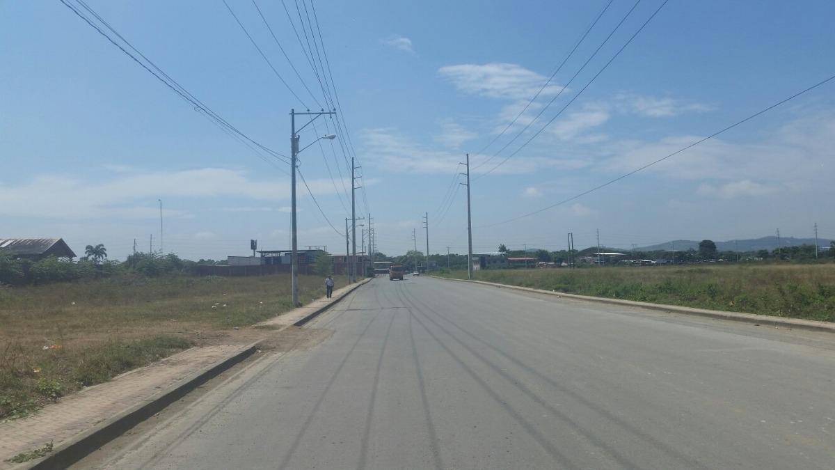 terreno  vía daule 10000 m en venta via a daule km 26