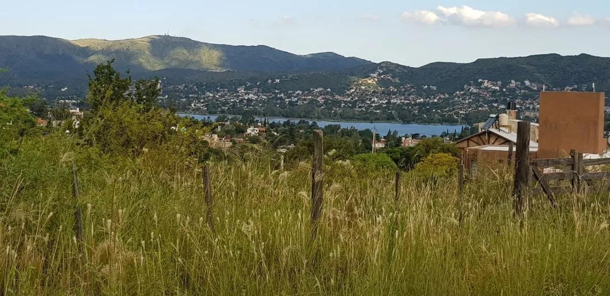 terreno villa carlos paz vista al lago.