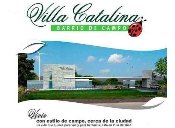 terreno - villa catalina