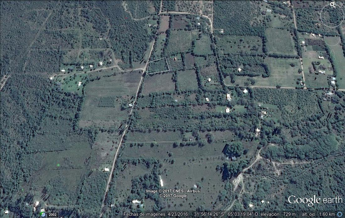 terreno - villa de las rosas - traslasierra - cordoba