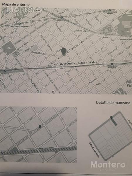 terreno - villa del parque - u$s 1.500.000 se aceptan metros en parte de pago