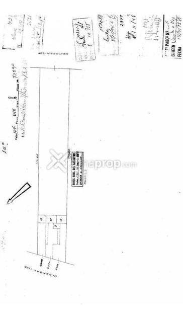 terreno - villa urquiza - planos aprobados y derechos pagos