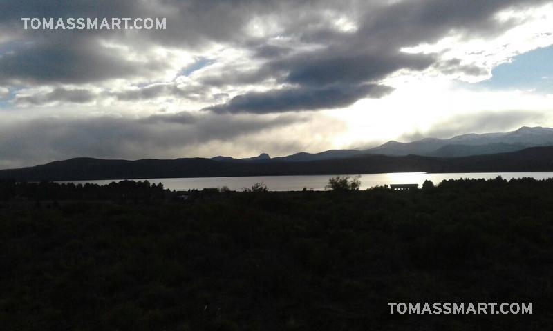 terreno vista al lago en barrancas de dina huapi
