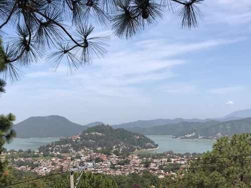 terreno vista al pueblo