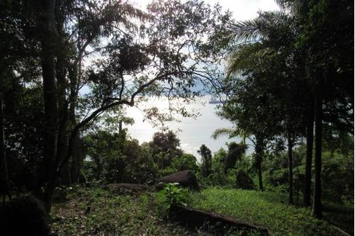 terreno vista privilegiada ilhabela - sp - cabarau - ca022