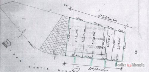 terreno zis para mcmv - bem localizado - te0137