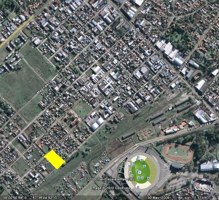 terreno zona e3 - media manzana - 3750 m2