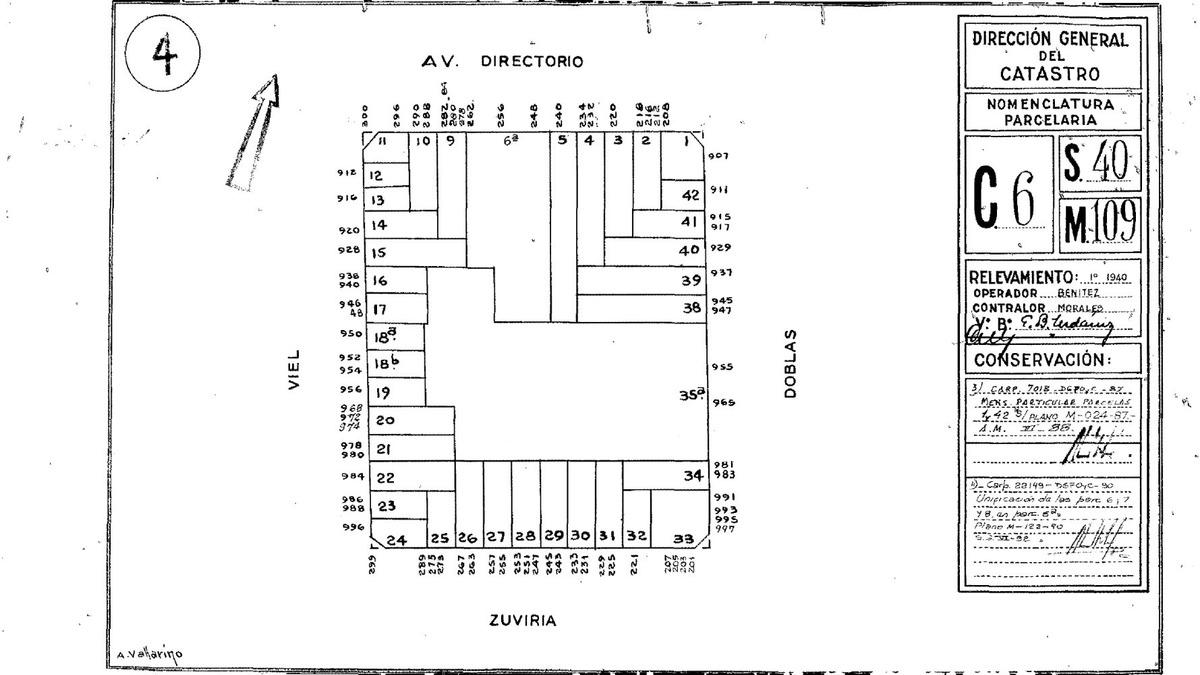 terreno zonif: usaa - m2 a construir. 1666 en venta