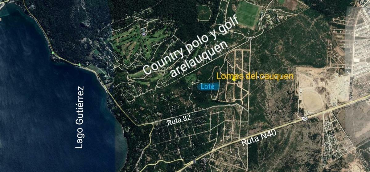 terreno/lomas del cauquen/ 1391 m2/ servicios subterráneos