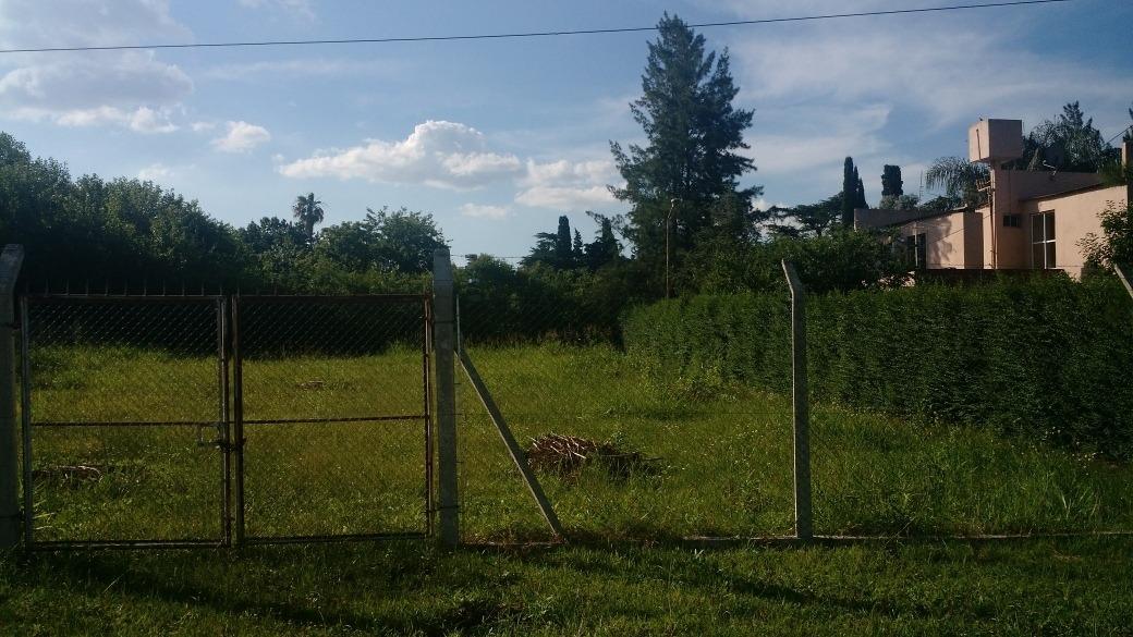 terreno'lote en  barrio parque santa amelia