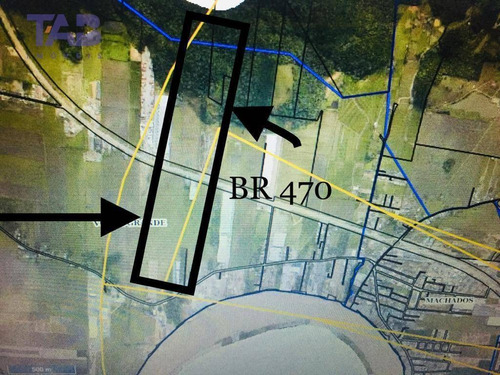 terrenonavegantes/dois acessos á br 470 - te0131