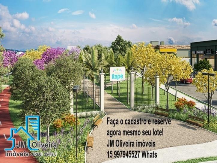 terrenos a venda loteamento parque itapê itapetininga sp - te00011