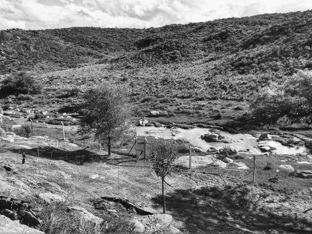 terrenos cerca del rio, sierras de cordoba