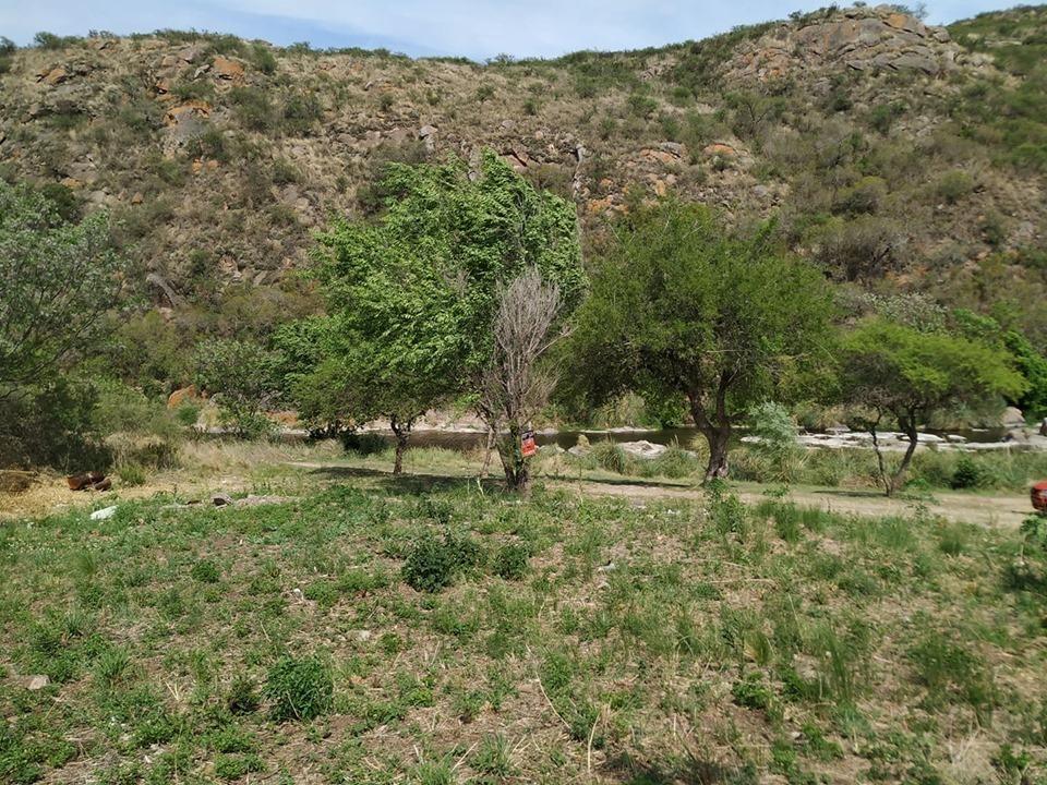 terrenos colindantes frente al rio en villa carlos paz