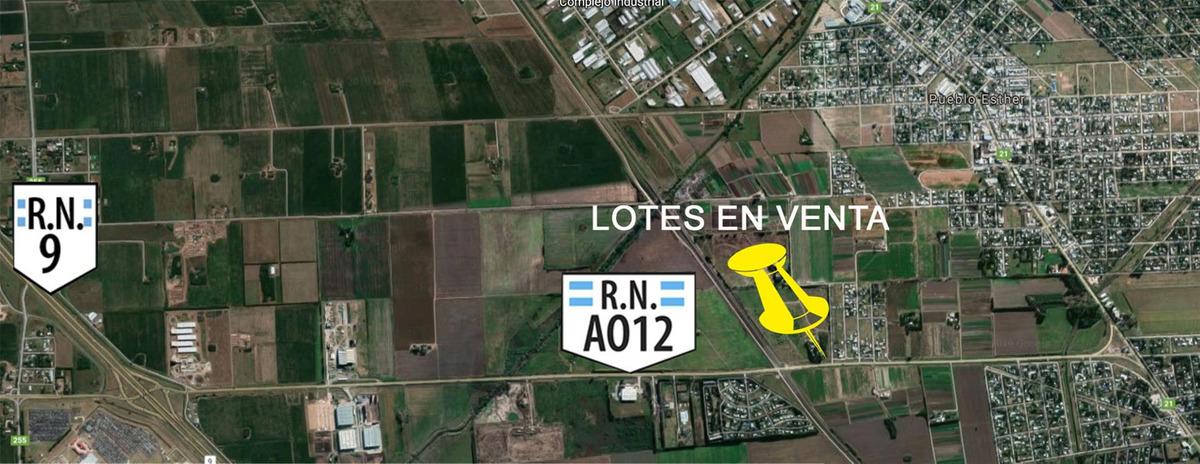 terrenos comerciales sobre ruta a012 (apto galpones)