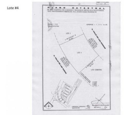 terrenos comerciales venta 3,562m $1,000xm por aeropuerto avtedir oh5