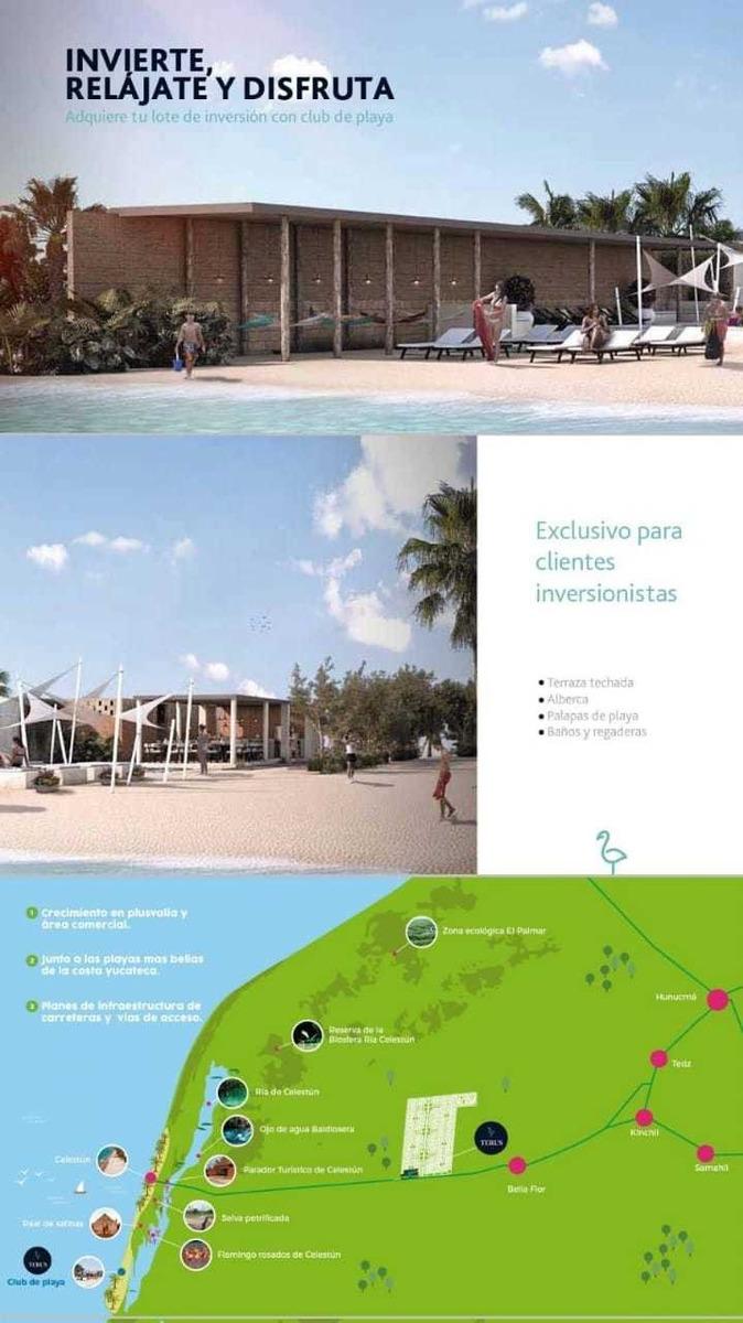 terrenos con casa club en la playa
