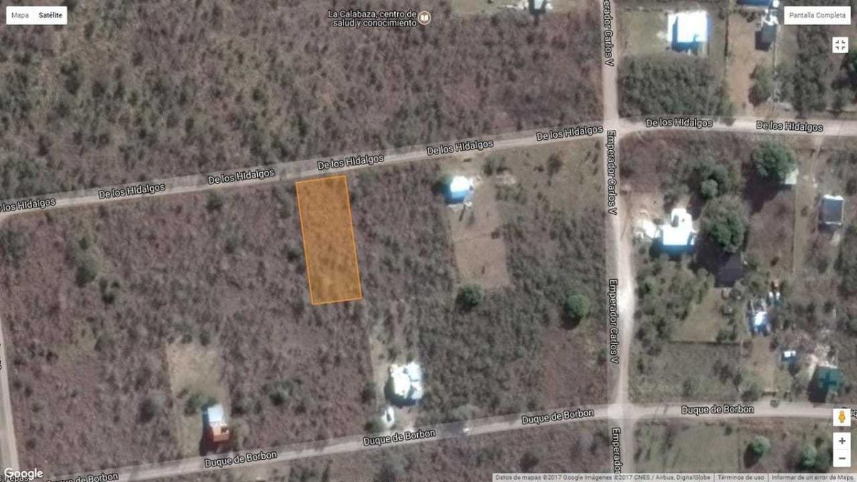 terrenos de 1000mts2 en venta, cosquin, b° condado golf