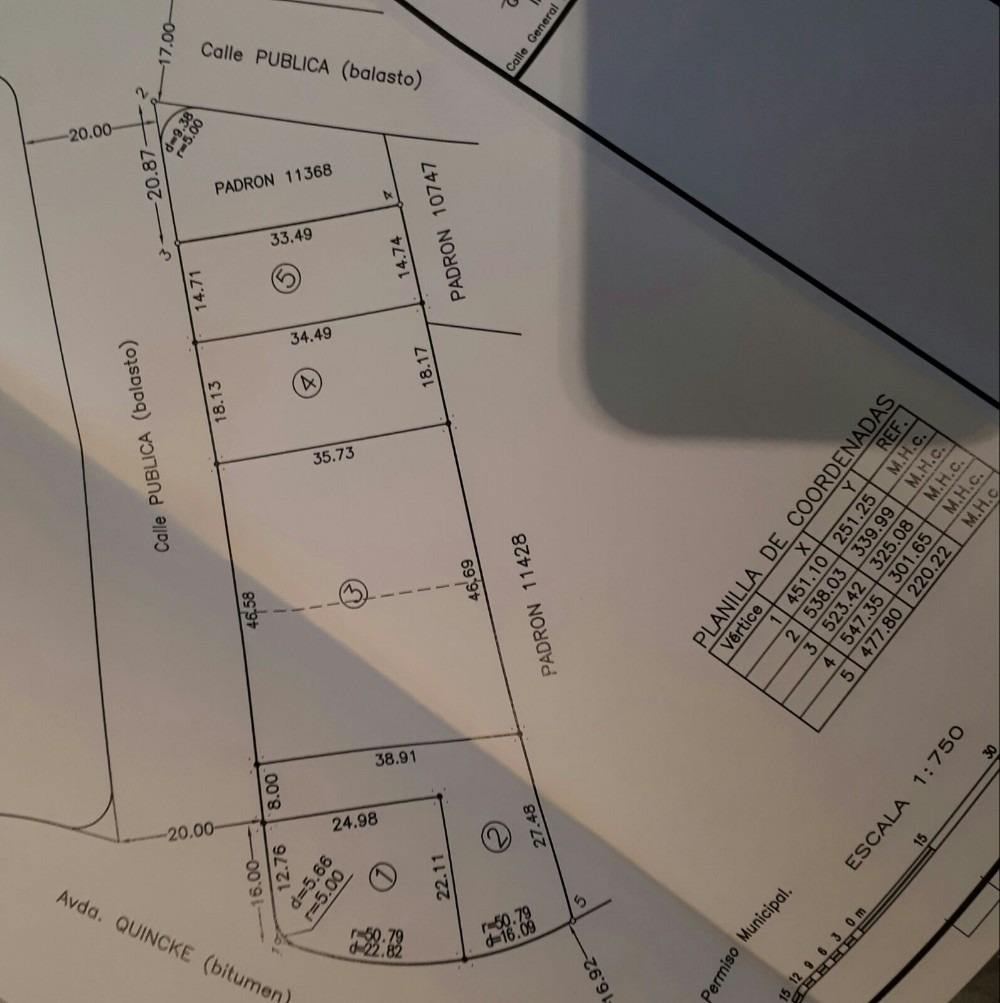 terrenos de 550 m2 en san benito
