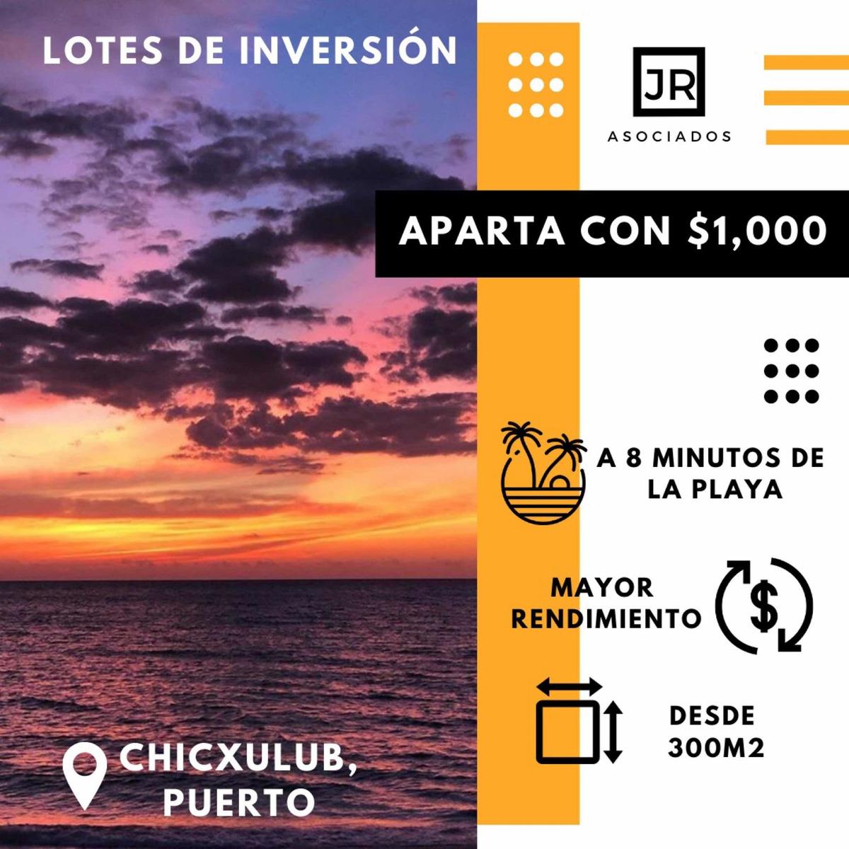 terrenos de inversión en costas yucatecas