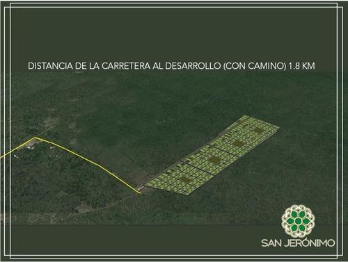 terrenos de inversión en san jerónimo