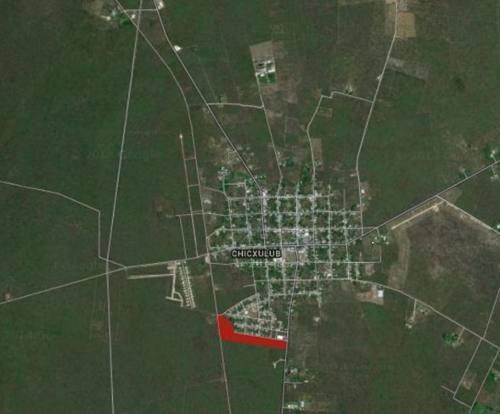 terrenos de inversion en venta en chicxulub pueblo merida yucatan