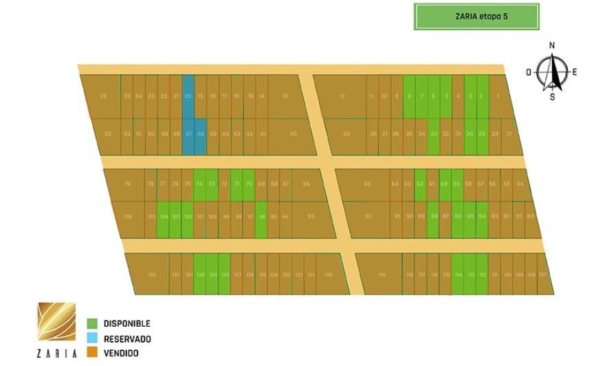 terrenos de inversión suburbanos zaria