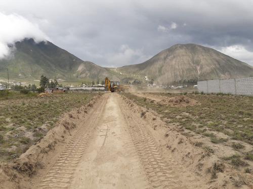 terrenos de oportunidad en caspigasi sector mitad del mundo