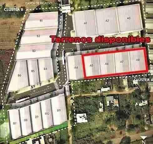 terrenos desde 790 m2 hasta 3,250 m2 dentro de parque