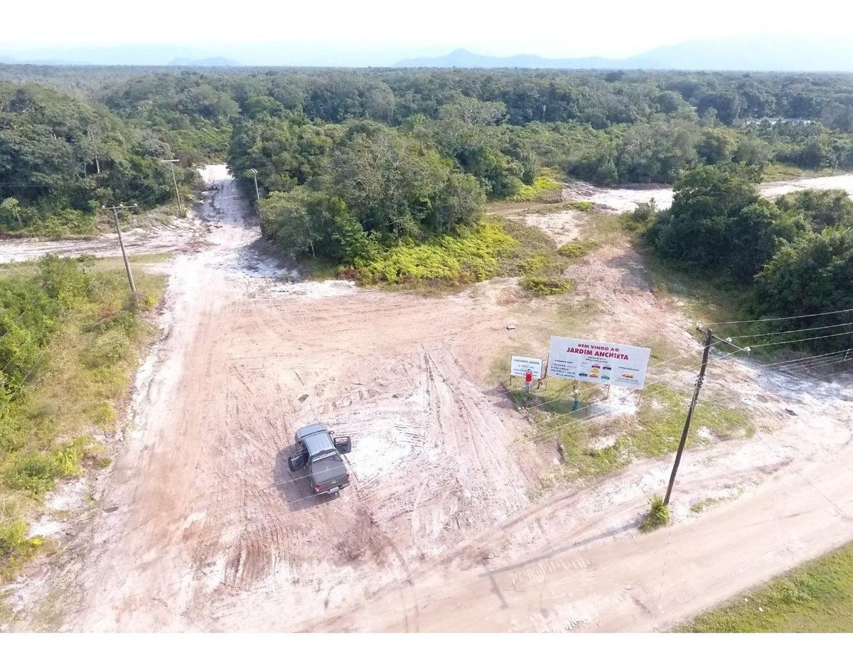 terrenos em itanhaem parcelados 250m por r$276,00mês