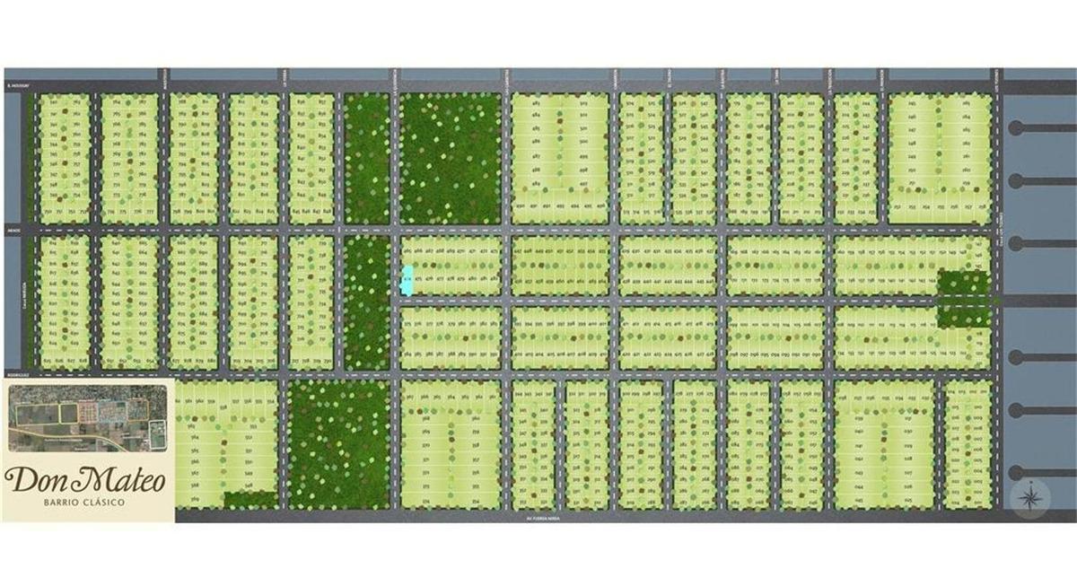 terrenos en barrio abierto don mateo - etapa 3