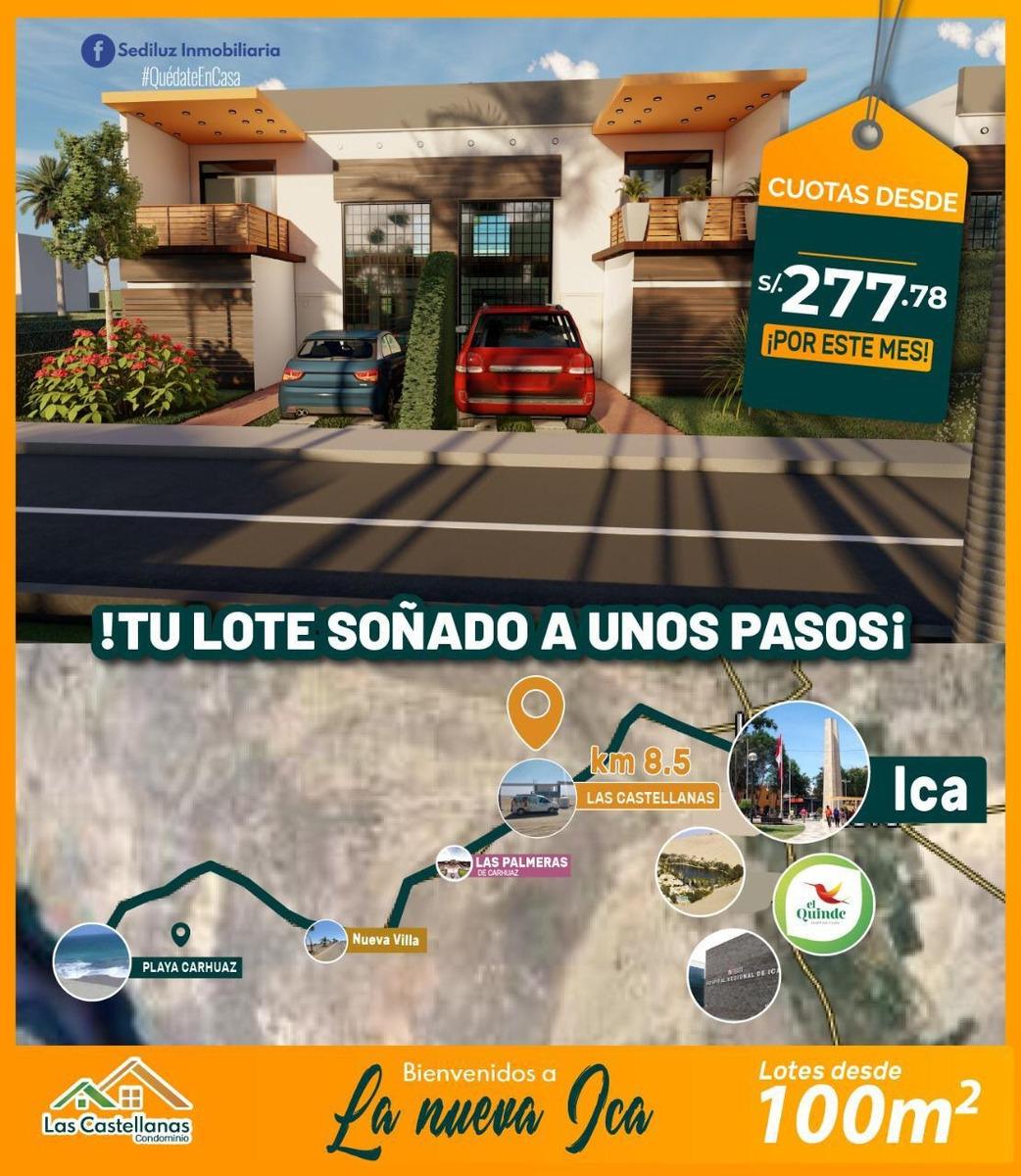 terrenos en camino a carhuas en condominios las castellanas