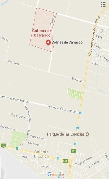 terrenos en colinas de carrasco - desde u$s50/m2