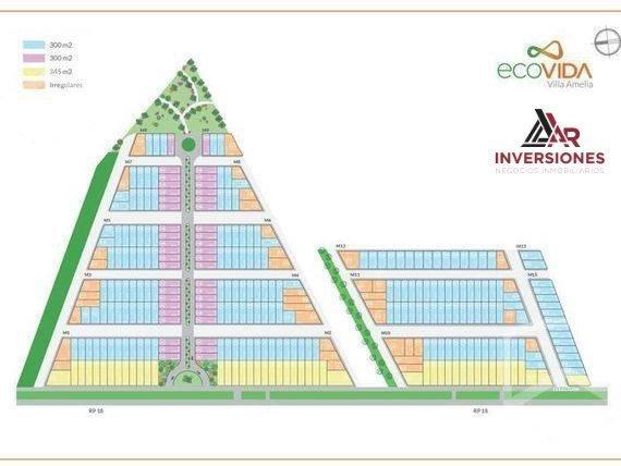 terrenos en ecovida desde 300m2 - lotes con entrega y 36 cuotas de financiacion