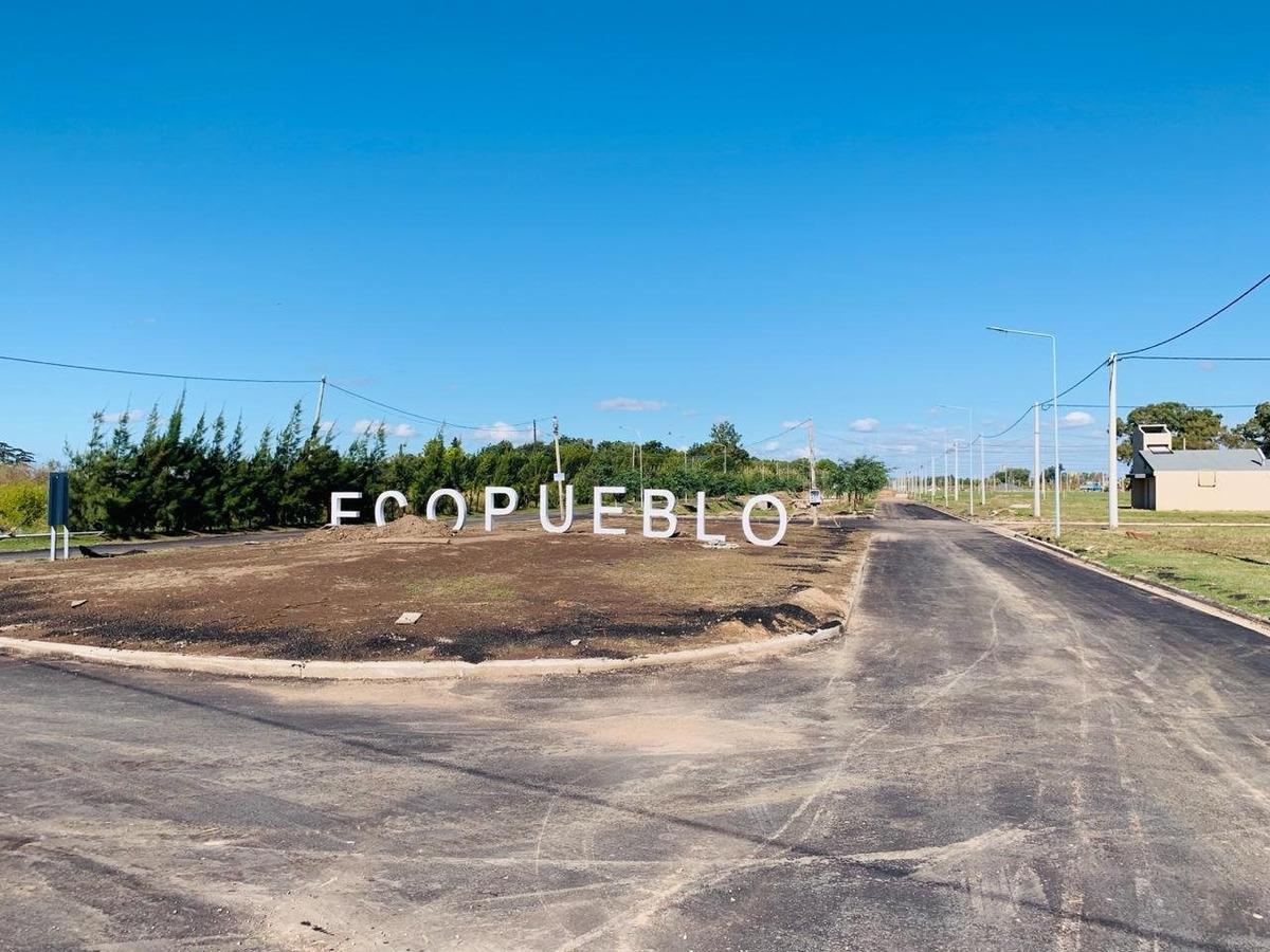 terrenos en excelente desarrollo urbanisitico - todos los servicios - ecopueblo - tomamos tu auto