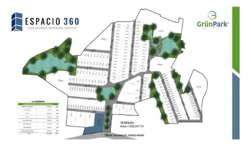 terrenos en parque industrial  grun park la piedrera